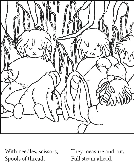 Mother Earth And Her Children Coloring Book Download Sample Page Here Picture